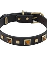 Collar R&R Grn Tiger Eye LG