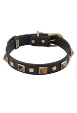 Collar R&R Grn Tiger Eye LG
