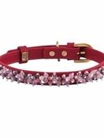 Collar Pink Qtz Rhodonite Beaded
