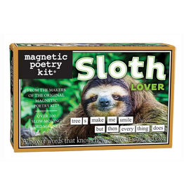 Magnetic Poetry - Sloth