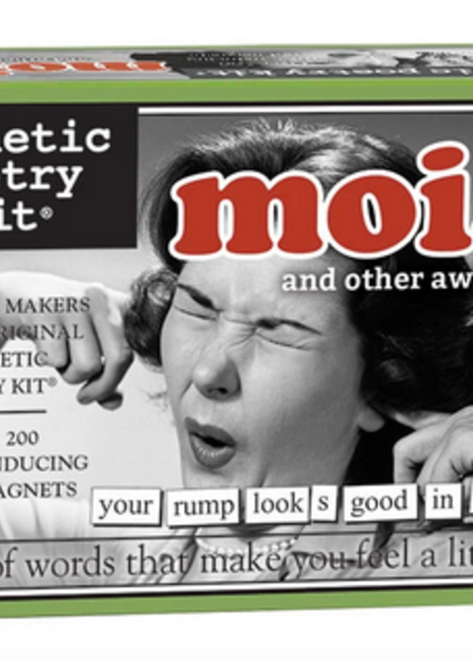 Magnetic Poetry - Moist