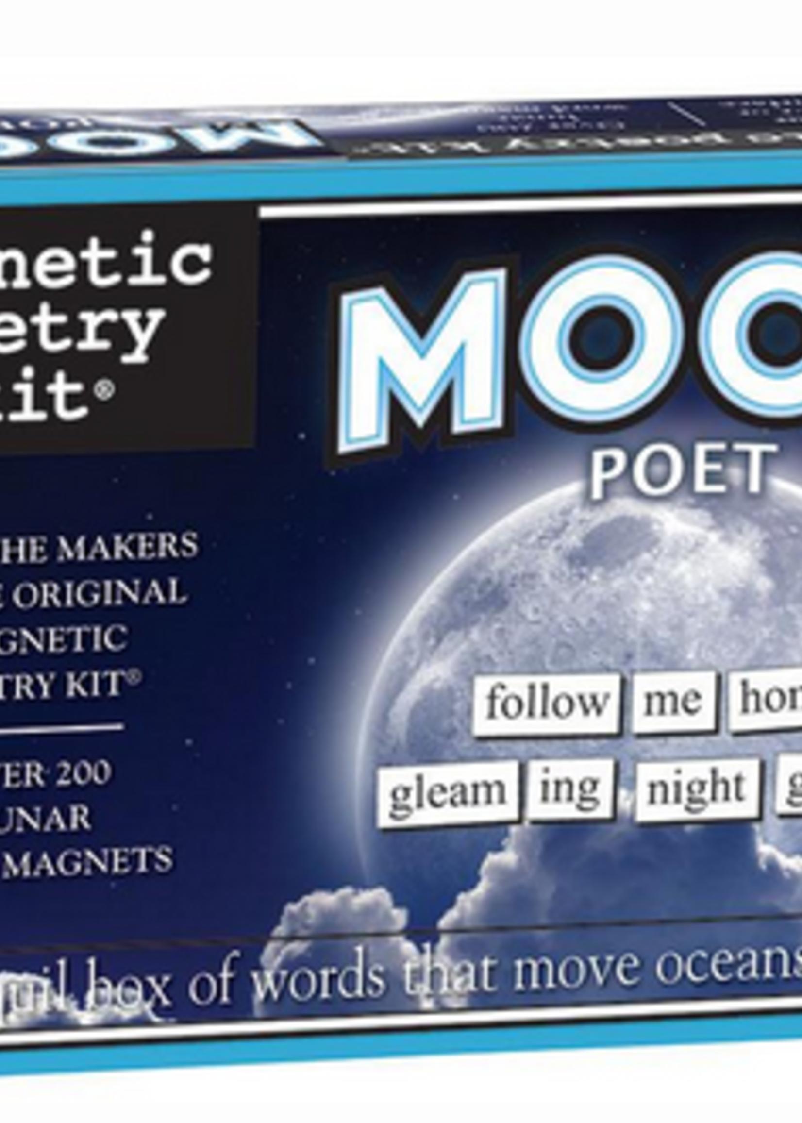 Magnetic Poetry - Moon