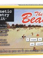 Magnetic Poetry - Beach