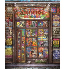 Puzzle Groovy Records 1000 piece