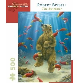 Puzzle 500 pc. The Swimmer - Robert Bissell 18x24