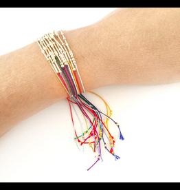 Adorn512 Morse Code Zodiac Bracelet