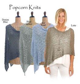 Popcorn Knit 3 Ways