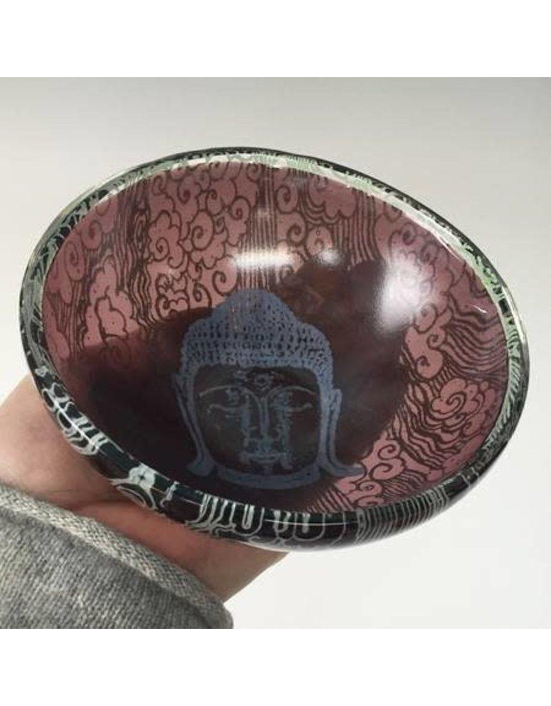 Kiku Handmade Kiln Formed Bowl