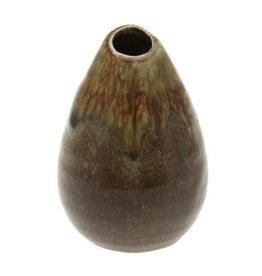 Vase Teardrop Spanish Moss m1