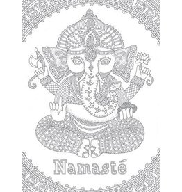 Card COLORING Ganesha
