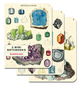Mineralogie 3 Mini Notebooks