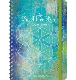 Cal 21 Weekly Planner Be Here Now (Ram Dass)