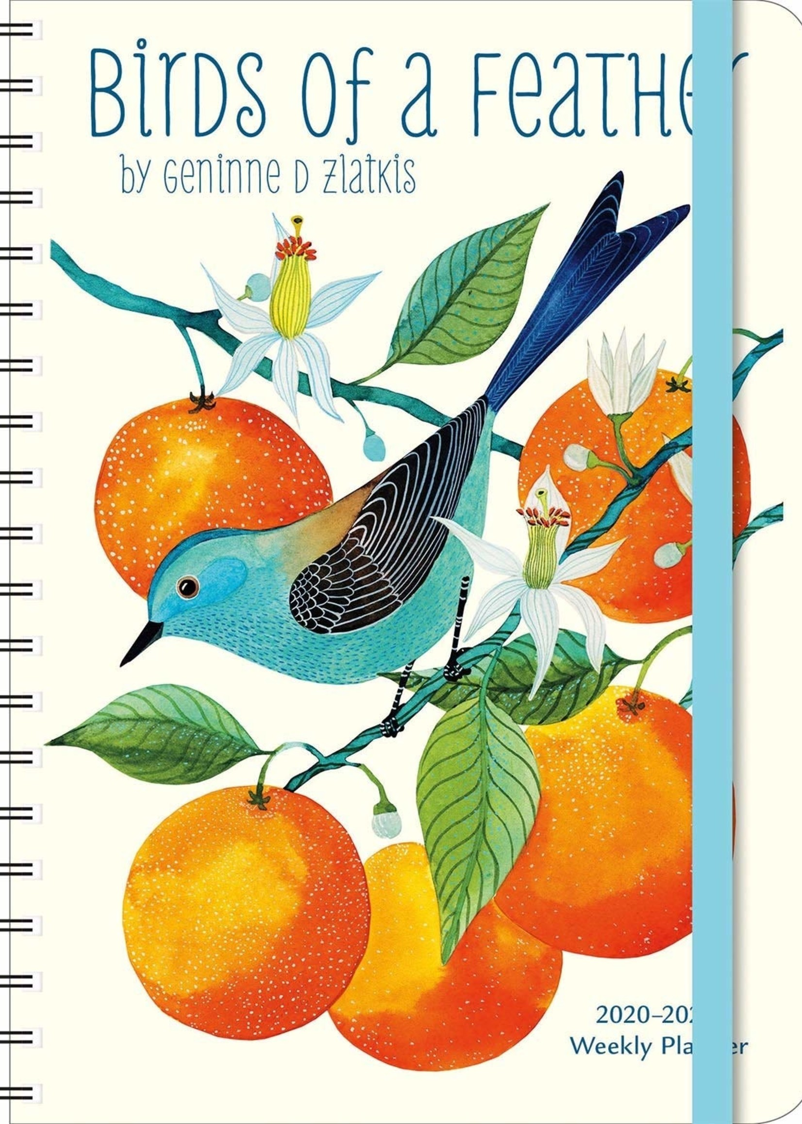 Cal 21 Weekly Planner Birds Of A Feather