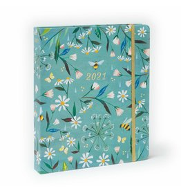 Cal 21 Katie Daisy Hardcover Deluxe Planner