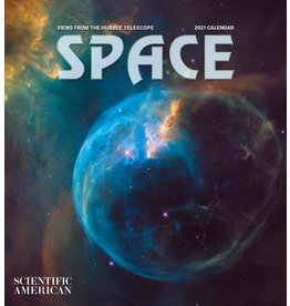 Cal 21 Space: Hubble Wall