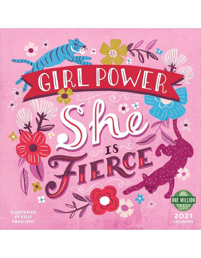 Cal 21 Girl Power / Wall