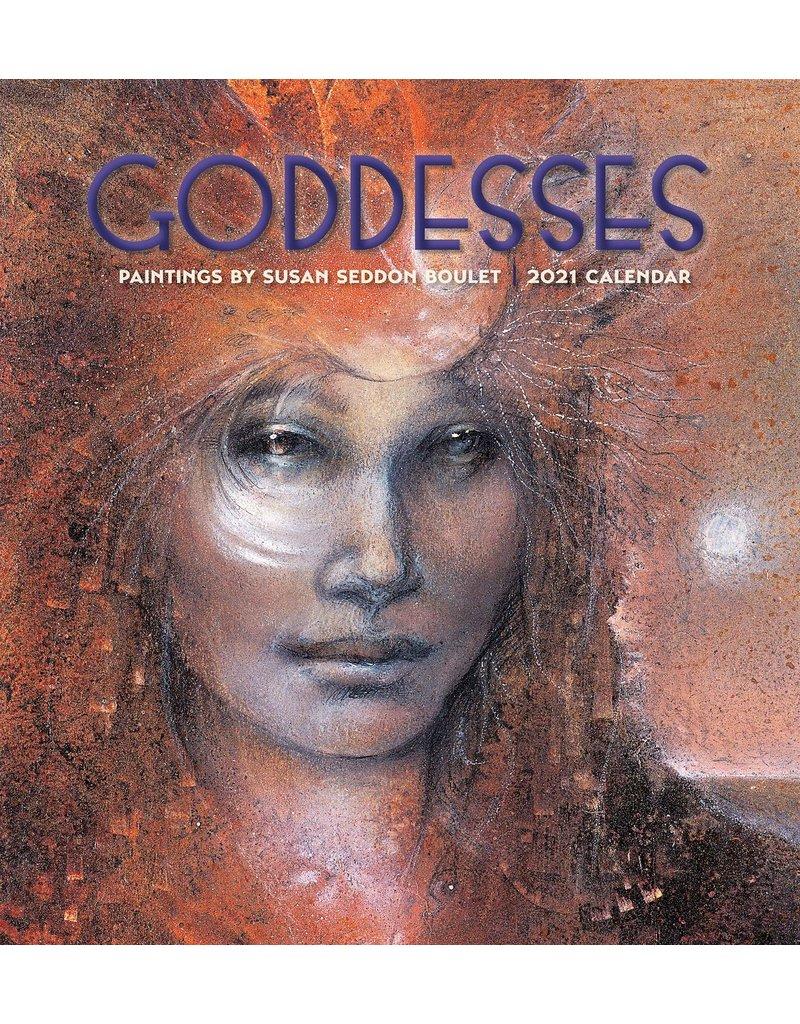 Cal 21 Goddesses: Boulet / Wall
