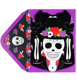 CARD HALLOWEEN Bring on the Night Skeleton Mobile