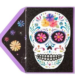 CARD HALLOWEEN Celebrate the Day Skull