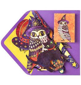 CARD HALLOWEEN Owl Mobile