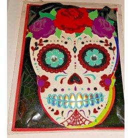 CARD HALLOWEEN Skull Banner