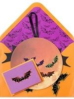 CARD HALLOWEEN Pumpkin and Bats Mobile