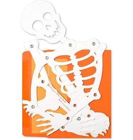 CARD HALLOWEEN Skeleton Mobile