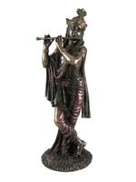 "Statue Krishna - Hindu God of Love & Divine Joy 10"""