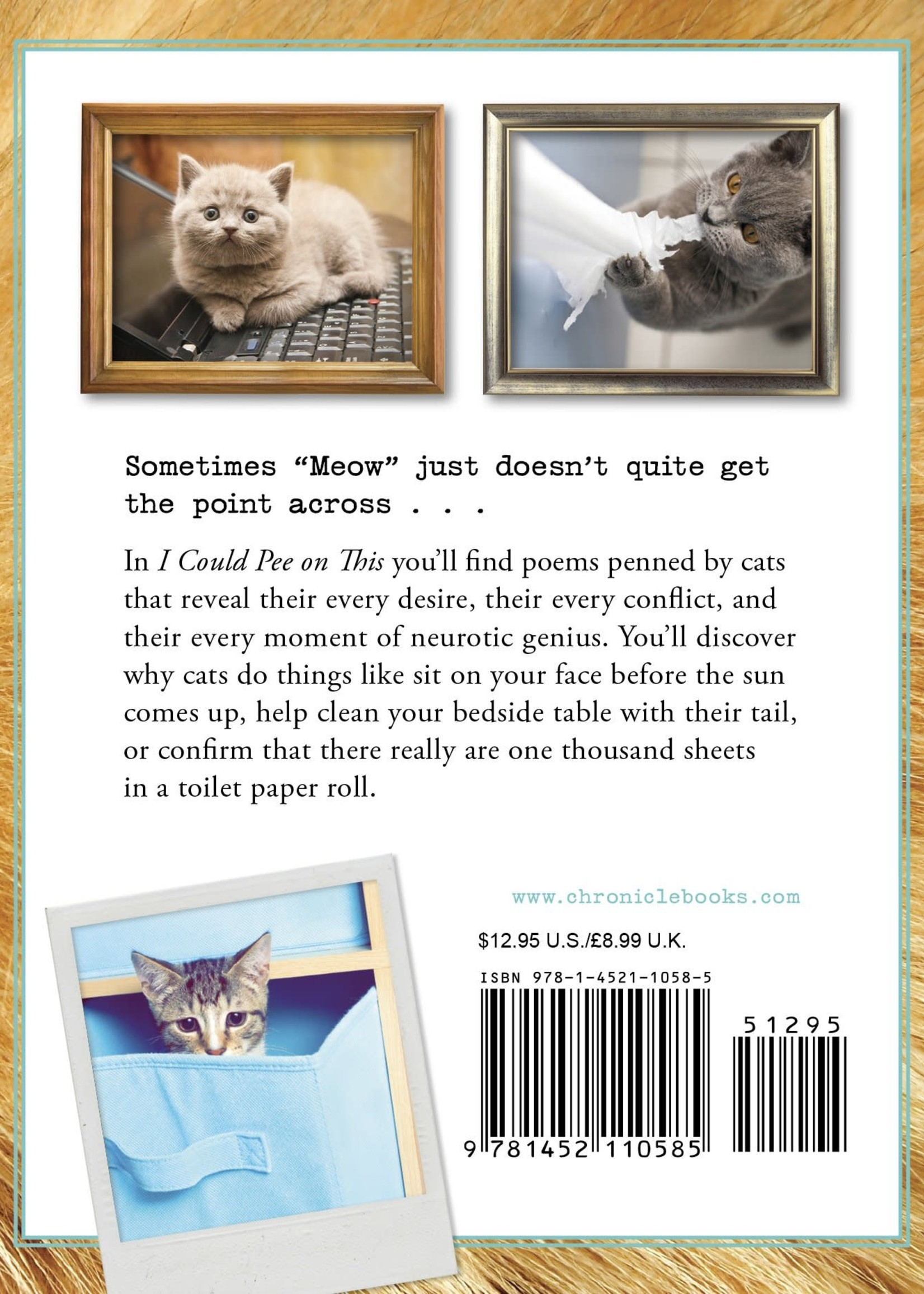 I Could Pee on This HB And Other Poems by Cats