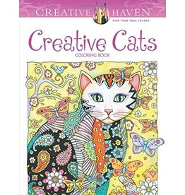 Creative Haven Creative Cats Coloring Book (First Edition, First) ( Adult Coloring )