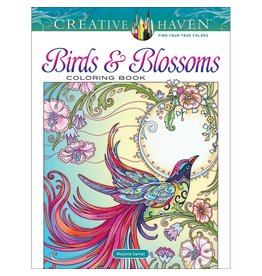 Creative Haven Birds and Blossoms Coloring Book ( Adult Coloring )