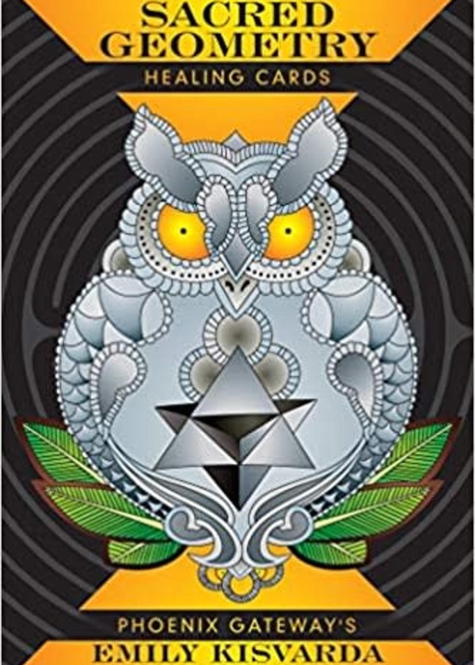 Book Sacred Geometry Healing Cards