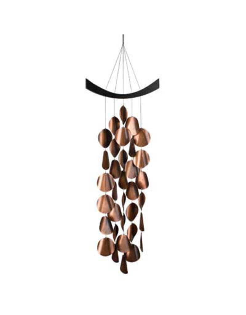"""CHIME Moonlight Waves 34"""" Black finish & 34 copper plated steel discs"""