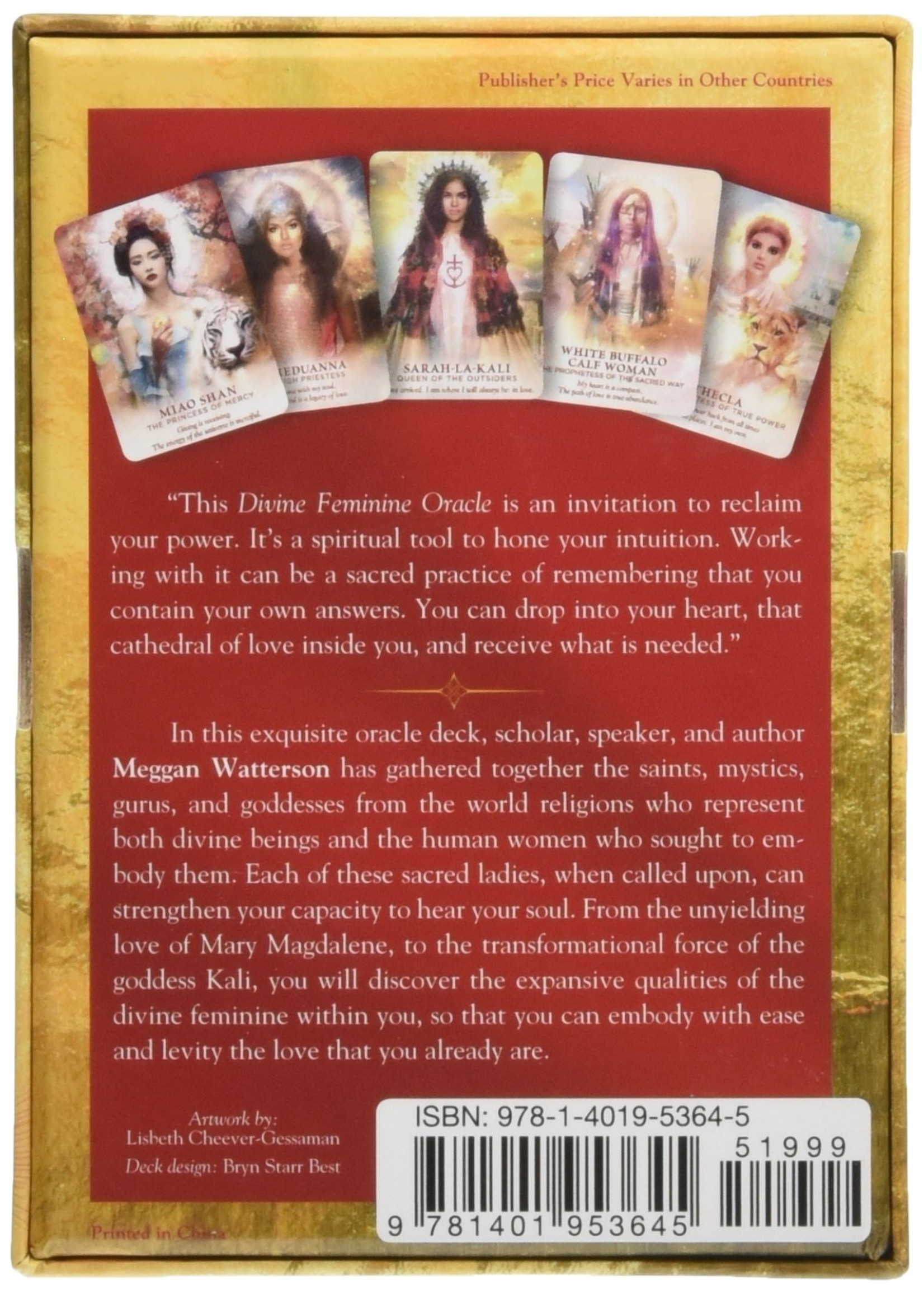 Divine Feminine Oracle: A 53-Card Deck & Guidebook for Embodying Love