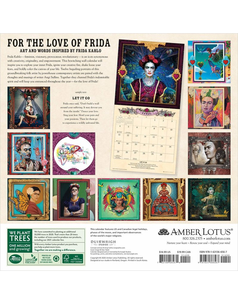 Cal 21 For The Love Of Frida / Wall