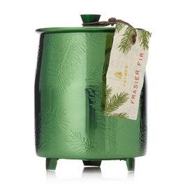 Frasier Fir Green Tin Candle Medium
