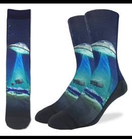 UFO Abduction Men's Socks