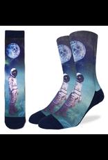 Astronaut With Balloon Men's Socks
