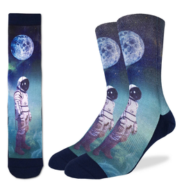 Astronaut With Balloon Men's Socks