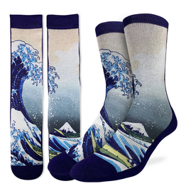 The Great Wave of Kanagawa Men's Socks