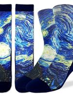 The Starry Night Men's Socks