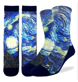 The Starry Night Men's Socks