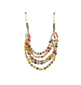 Aasha 5 Strand Necklace