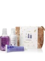 Lavender Travel Set w/Beauty Bag