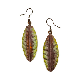 Copper Patina Earring 289