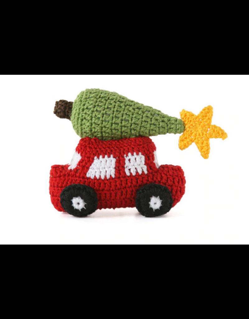 Ornament Car w/Christmas Tree