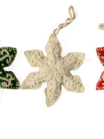 Ornament Embroidered Snowflake