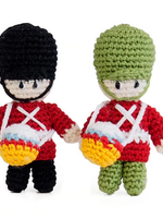 Crochet Drummer Boy Ornaments