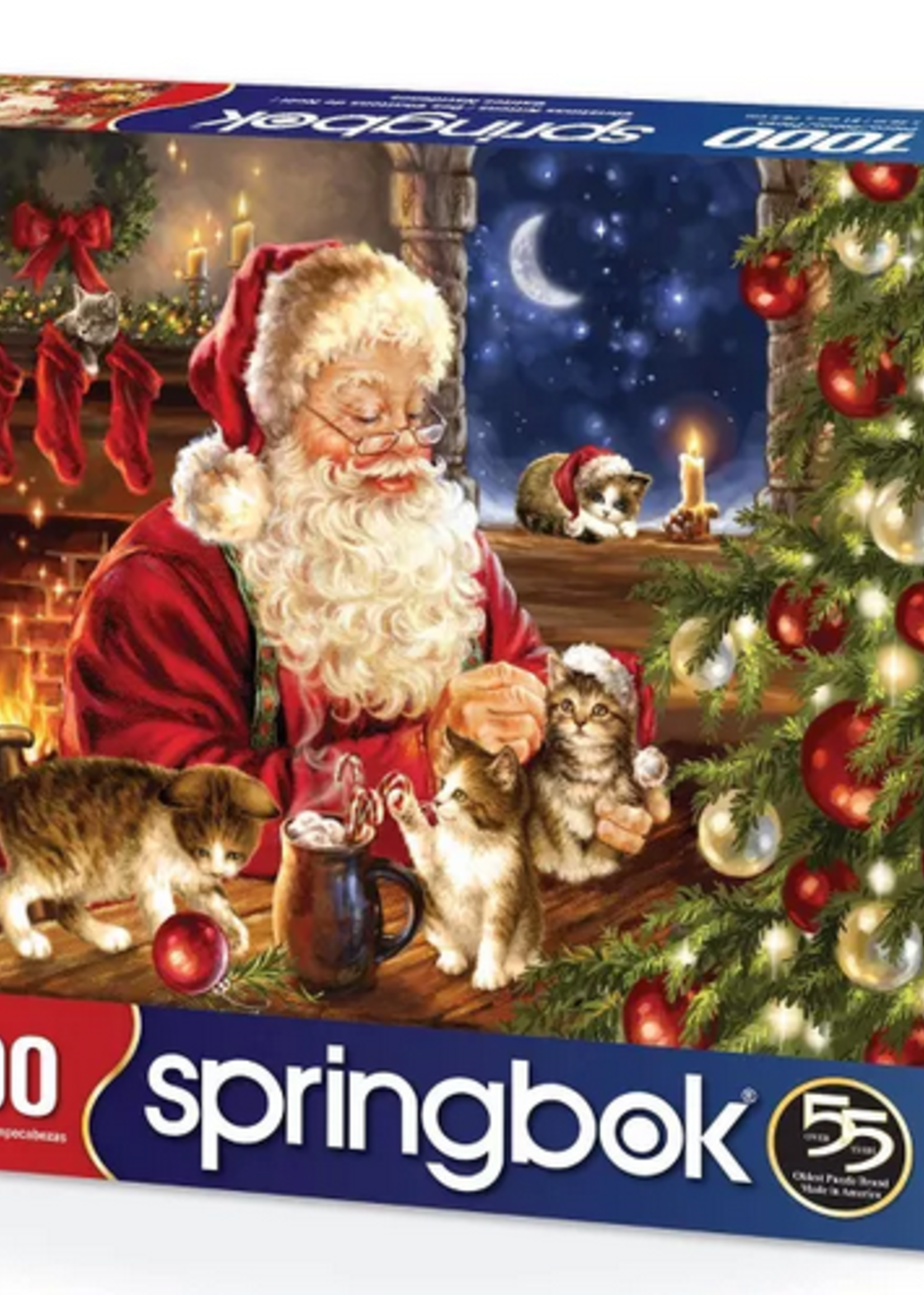 Puzzle Christmas Kittens