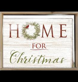 BX XMAS Home for Christmas W/Bamboo